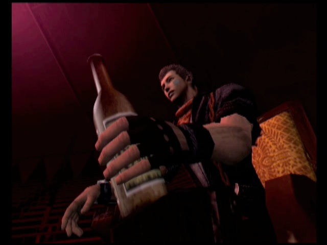 Its always time for a cold one in the world of GOD HAND!