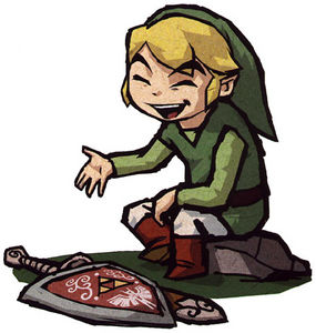 Link is happy to serve you.